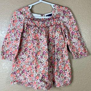 Baby Gap toddler girl floral print dress